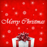 Illustration de cadeau de Joyeux Noël Photographie stock libre de droits