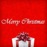Illustration de cadeau de Joyeux Noël Images stock