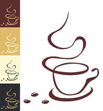 Illustration de café Images stock