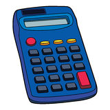 Illustration de calculatrice électronique Photos stock