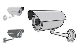Illustration de caméra de sécurité illustration de vecteur