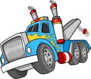 Illustration de camion de remorquage Photo stock