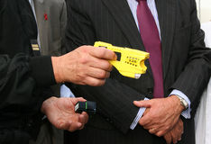 Illustration de canon de Taser Photos stock