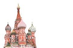 Illustration de cathédrale du ` s de Basil de saint - colorez le crayon Image libre de droits