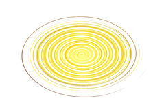 Illustration de cercle jaune Illustration Stock