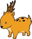 illustration de cerfs communs de vecteur Images stock