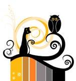 Illustration de chat Photo libre de droits