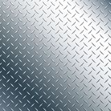 Illustration de Chrome Diamond Plate Realistic Vector Graphic Photo stock