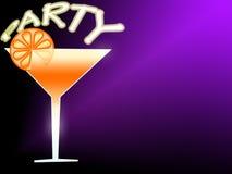 Illustration de cocktail Photos stock