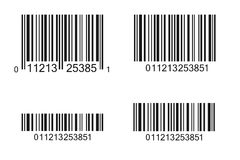 Illustration de code barres Photographie stock