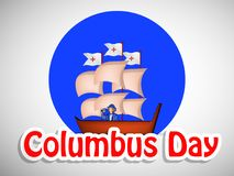 Illustration de Columbus Day Background Photographie stock