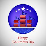 Illustration de Columbus Day Background illustration de vecteur