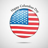 Illustration de Columbus Day Background Photo libre de droits