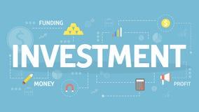 Illustration de concept d'investissement illustration libre de droits
