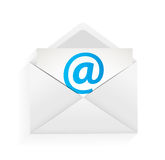Illustration de concept de protection d'email Image stock