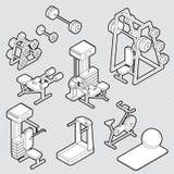 Illustration de concept graphique de sport d'infos Images stock