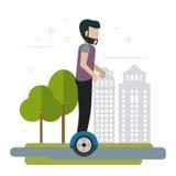Illustration de conception de Segway Image libre de droits