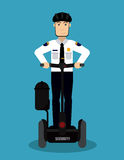 Illustration de conception de Segway Images libres de droits