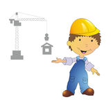 Illustration de constructeur Image stock