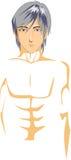 Illustration de corps masculin Photo stock
