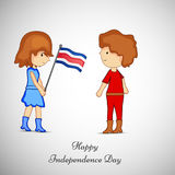 Illustration de Costa Rica Independence Day Background Photographie stock
