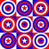 Illustration de couleurs de l'Amérique illustration stock
