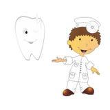Illustration de dentiste Photo libre de droits