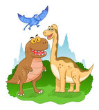 Illustration de dinosaures Photos libres de droits