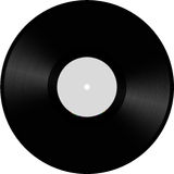 Illustration de disque de vinyle Photo stock