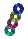 Illustration de disques compacts réalistes d'isolement illustration stock