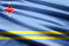 Illustration de drapeau d'Aruba illustration de vecteur