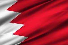 Illustration de drapeau du Bahrain illustration stock