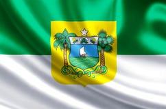 Illustration de drapeau du Rio Grande do Norte illustration libre de droits