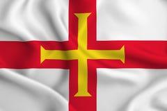 Illustration de drapeau de Guernesey illustration libre de droits