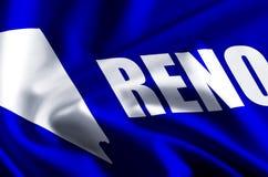 Illustration de drapeau de Reno illustration libre de droits
