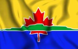 Illustration de drapeau de Thunder Bay illustration stock