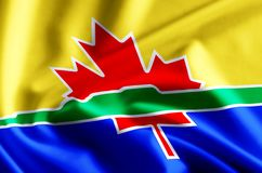Illustration de drapeau de Thunder Bay illustration libre de droits