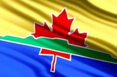 Illustration de drapeau de Thunder Bay illustration de vecteur