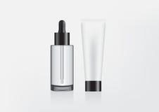 Illustration de empaquetage de maquillage Image libre de droits