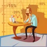 Illustration de faillite commerciale Image stock