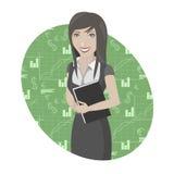 Illustration de femme d'affaires Photos stock