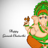 Illustration de festival indou Ganesh Chaturthi Background Photos stock