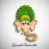 Illustration de festival indou Ganesh Chaturthi Background Images stock