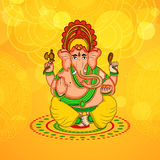 Illustration de festival indou Ganesh Chaturthi Background Image stock
