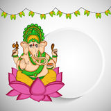 Illustration de festival indou Ganesh Chaturthi Background Photo libre de droits
