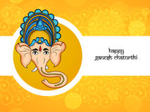 Illustration de festival indou Ganesh Chaturthi Background Image libre de droits