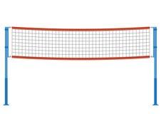 Illustration de filet de volleyball de vecteur Image libre de droits
