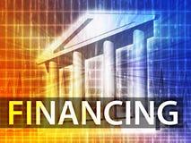 Illustration de financement illustration stock