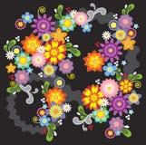Illustration de fleur de source Image libre de droits