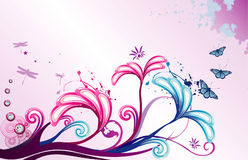 Illustration de fleur de vecteur Photos libres de droits